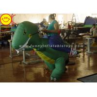 Cheap Large Halloween Nylon Adult Inflatable Dinosaur Costume For Party Game for sale