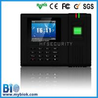 China Biometric Punch Card Fingerprint Time Clock Bio-H6 on sale