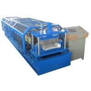 China Standing Seam Metal Roof Panel Machine / Self Lock Roof Sheet Roll Forming Machine on sale