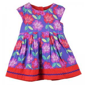 Cheap Summer Flower baby girl dress F002 for sale