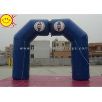 Cheap Blue Inflatable Arch Incorporate Various Styles / Sizes For Sporting Activities for sale