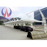 Cheap Firm Light Car Parking Tent Canopy , Cantilever Shade Structures For Car Parking wholesale