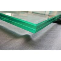 Quality Custom Curved Laminated Safety Glass Ultra Clear For Window / Door wholesale