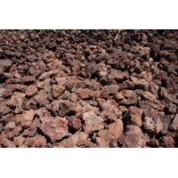 Cheap red lava stone for sale