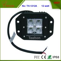 Cheap Professional Flush mount 12W off Road 4X4 CREE LED Work Light with IP67, CE, RoHS for sale