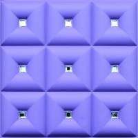 Buy cheap PVC 3D Faux Leather Wall Panels , Decorative Interior Wall Paneling from wholesalers