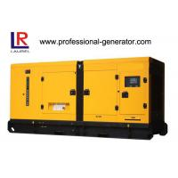 Cheap 50Hz 250KVA AC Three phases silent diesel generator set with 4 stroke 6-cylinder Cummins Engine for sale