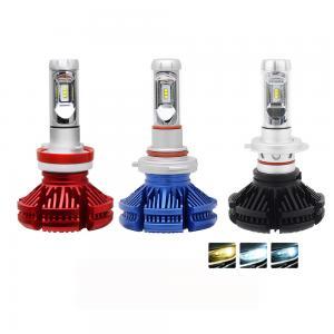 High power X3 H7 led Super Bright 9005 9006 H13 Auto car light H7 led headlight bulbs h4
