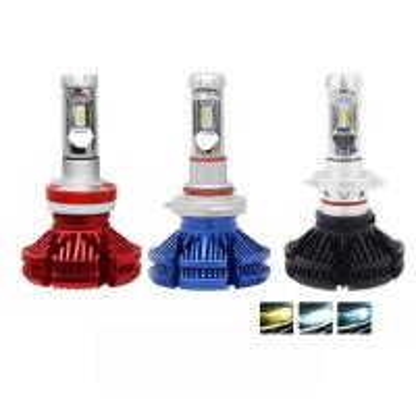 Quality High power X3 H7 led Super Bright 9005 9006 H13 Auto car light H7 led headlight bulbs h4 wholesale