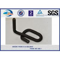 Cheap Gauge Lock Clamp Elastic Rail Clips 14mm 60Si2MnA Plain Surface in Track System for sale