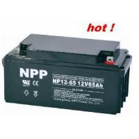 Cheap Emergency Battery NP12-65Ah (UL, CE, ISO9001, ISO14001) for sale