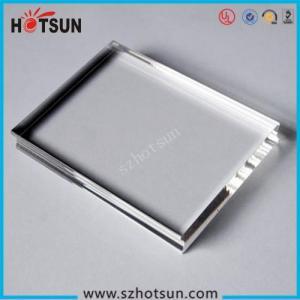 Cheap Wholesale high quality acrylic block, plexiglass block, logo block for sale
