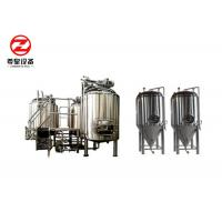 China Alcohol Processing Micro Brewing Craft Beer Equipment , Beer Making Equipment on sale