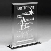 Cheap Clear Acrylic Trophy Awards, Available in Various Shapes, Customized Designs are Accepted for sale