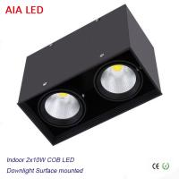 Cheap Inside contemporary 2x10W 20W COB LED down light for kitchen used for sale