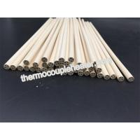 Cheap 98.3---99.9% MgO Magnesia ceramic pipes tubes pin rod for cartridge heater wholesale