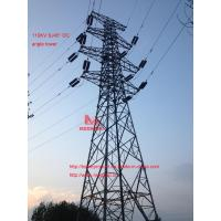 Buy cheap megatro 110KV SJ45° DC angle tower,power steel tower of 110 kv line products from wholesalers