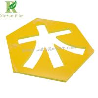 China 50 micro Customized Self Adhesive Protective Film for PVC Foam Sheet on sale