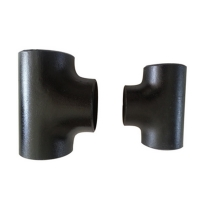 China Seamless Pipe Fittings cold forming forged pipe fitting Carbon steel equal  tee on sale