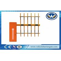 Cheap Auto Open And Close Vehicle Barrier Gate Led Light Bar Barrier Arms for sale