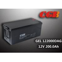 Cheap 12V 200AH non spillable sealed rechargeable battery , GEL Military Energy Storage Battery wholesale