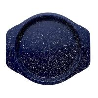 China Speckle Bakeware 9-Inch Round Cake Pan Deep Sea Blue Speckle Marble coating bakeware baking pan on sale