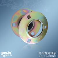 Cheap Pressed Steel Ball Bearing Unit For Metallurgy PF207 , Medical Bearing for sale