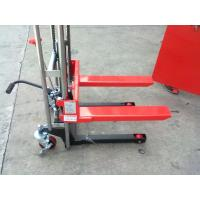 Cheap Red color 3ton capacity manual stacker with good quality for sale