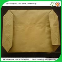 Cheap BMPAPER 160g brown kraft liner,160g brown kraft paper for wrapping,160g br for cement bags for sale