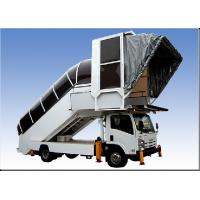 Quality Aviation Aircraft Stairs With Passengers And Cargo 15 Meter Turning Radius wholesale