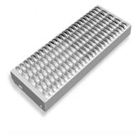 China Perforated Galvanized Grip Strut Grating Stair Treads Non Slip Metal Sheet on sale