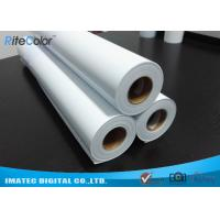 Cheap Eco Solvent Matte PP Synthetic Paper , Solvent based Polypropylene Paper for Outdoor Display wholesale