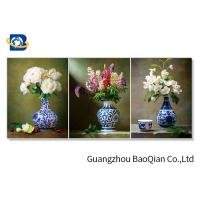 Cheap Waterproof 3D Wallpaper Image Flip Effect Beautiful Flower For Home Decoration for sale