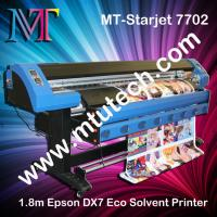 Cheap 1440dpi Eco Solvent Printer 1.8m/3.2m optional with Epson DX7 print head for sale