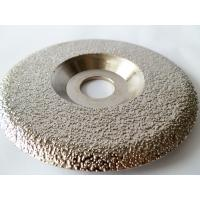 Cheap Plate Shaped  Diamond Grinding Wheel / Artificial Stone Diamond Grinding Disc for sale