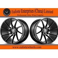 Buy cheap 19inch ,20inch and 22inch Gloss black machined face 1-PC forged wheels from wholesalers