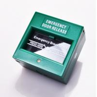 Cheap DPDT White Break Glass Call Point Emergency Exit Push Button With Changeable Glass wholesale