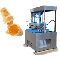 China Tea Restaurant Small Business Wafer Cone Making Machine on sale
