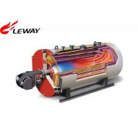 Cheap 0.7MW Rated Oil Fired Hot Water Boiler , Oil Hot Water Heater Atmospheric Pressure for sale
