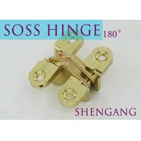 China Stainless Steel Furniture Hardware For Concealed Door , Adjustable Door Hinges on sale