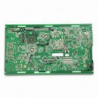 Cheap 6-layer PCB with OSP Finish, 0.2mm Minimum Via, High Tg/BGA/UL-approval, 0.3mm Trace, Multilayer PCB for sale