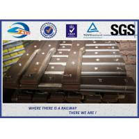 Cheap SGS 6 Hole Railway Fish Plate For Connecting Rails with Hot rolled steel for sale