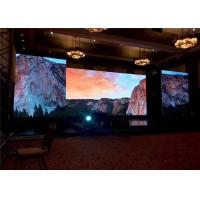 Cheap Nationstar SMD2121 Stage Background LED Screen P4.81 With 500*1000mm Die Casting Cabinet for sale