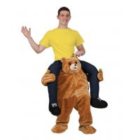Cheap Holiday / Carnival Animal Mascot Costumes Bear Carrying Man Costume for sale