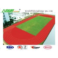 Quality Anti-UV Stadium School Prefabricated Recycled Rubber Flooring For 400 Meter Standard wholesale