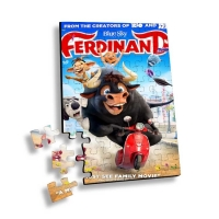 China Lenticular Printing 3d Puzzle With Movie Characters or Flip Jigsaw Children Family Games Educational Toy 3D Jigsaw Puzzl on sale