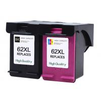 Buy cheap Recycled Refurbished Printer Ink Cartridges For HP 62 XL Multicolor Compatible from wholesalers