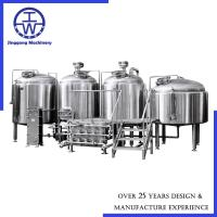 Buy cheap Beer Brewing 4 Vessel Brewhouse Mash Tun Lauter Tun Brew Kettle Boiler Whirlpool from wholesalers
