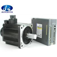 China high torque servo motor 1.8KW 3 Phase AC Motor 110mm 6A 3000RPM With Driver JK-G2A3215 Set on sale