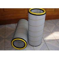 Cheap Cement Silo Dust Collector Filter Cartridge , Standard Size Industrial Cartridge Filters for sale